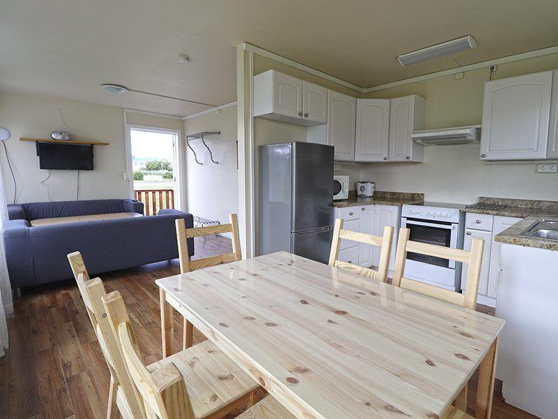 Angelreisen Island 6000 Flateyri Küche