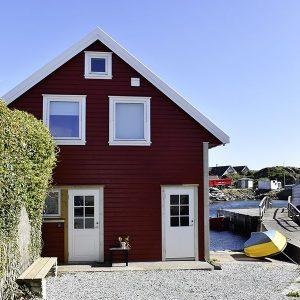 Angelreisen Norwegen 40322 Kvitsøy Seehaus Mirjam Ansicht