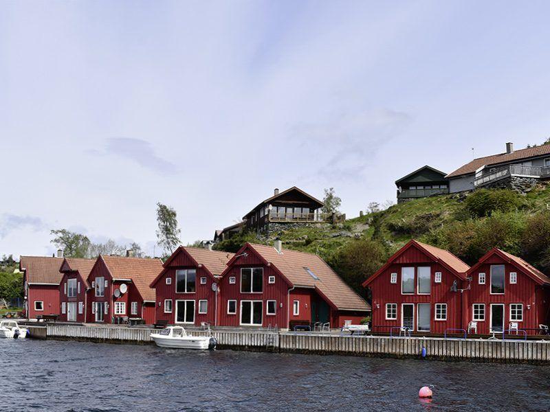 Angelreisen Norwegen 40411-40431 Furre Hytter Ansicht