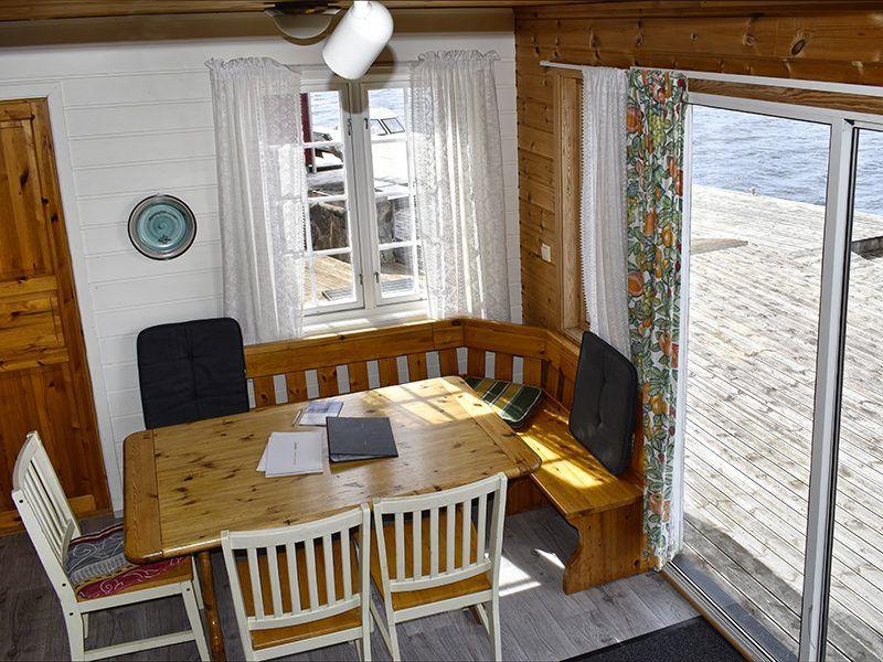 Angelreisen Norwegen 40411 Furre Hytter Ausgang Terrasse