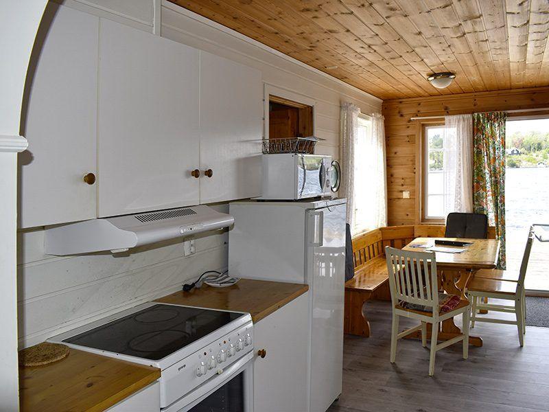 Angelreisen Norwegen 40411 Furre Hytter Küche