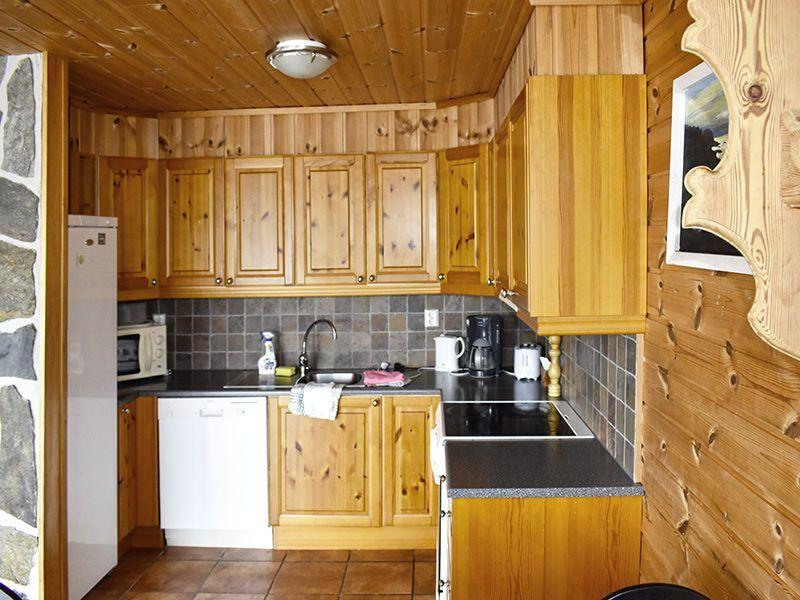 Angelreisen Norwegen 40420-40421 Furre Hytter Küche