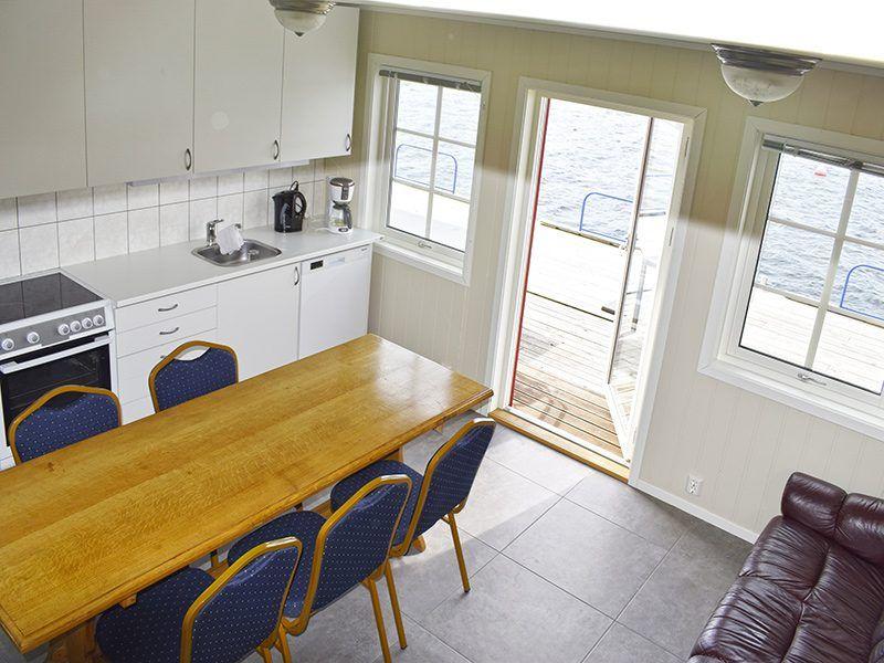 Angelreisen Norwegen 40429 Furre Hytter Küche