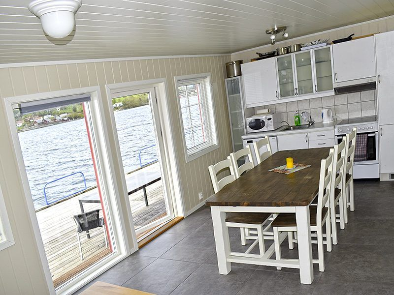 Angelreisen Norwegen 40430 Furre Hytter Küche, Essen