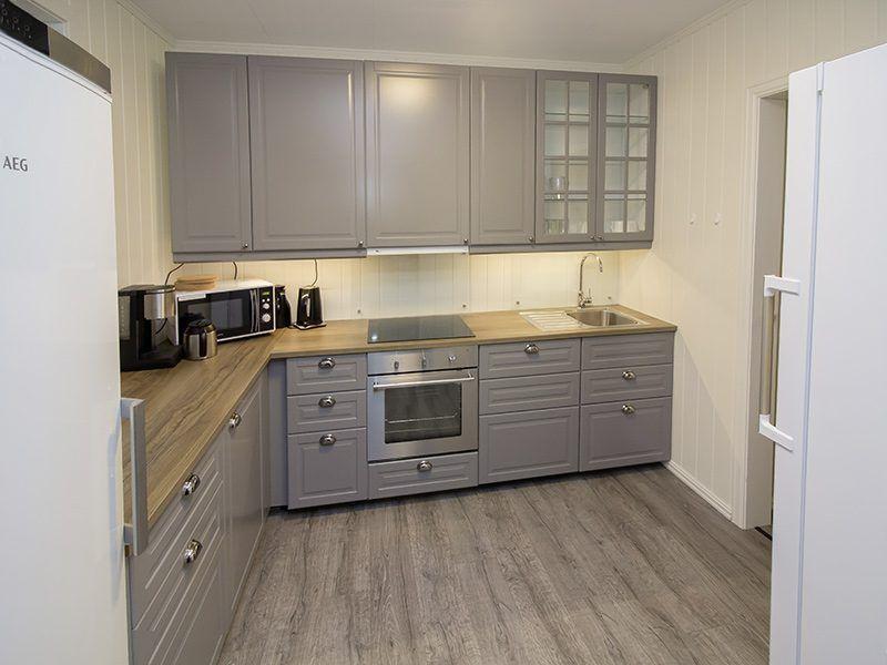 Angelreisen Norwegen 41680 Haus Storfjord Küche
