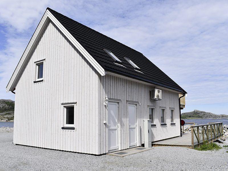 Angelreisen Norwegen 42401-42420 Bessaker neues Filetierhaus außen