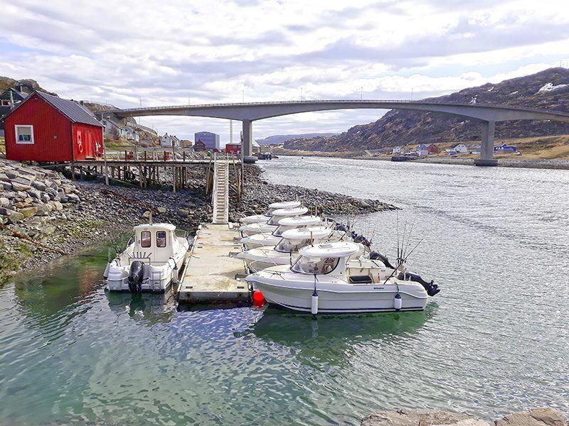 Angelreisen Norwegen 44001 - 44010 Havøysund Sjøhus Hafen
