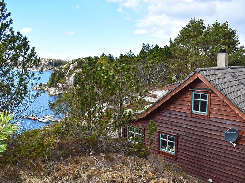 Angelreisen Norwegen 41050 Rolfsnes Seitenansicht