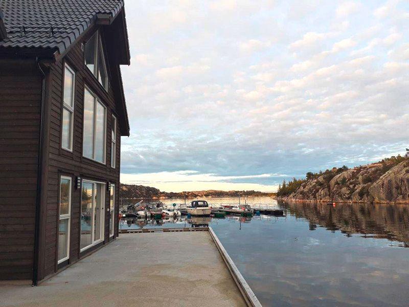 Angelreisen Norwegen 41073 Rorbu Rolfsnes Ansicht