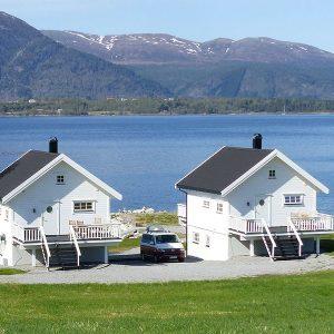 Angelreisen Norwegen 41773-41774 Ferienhäuser Nerås Rückansicht