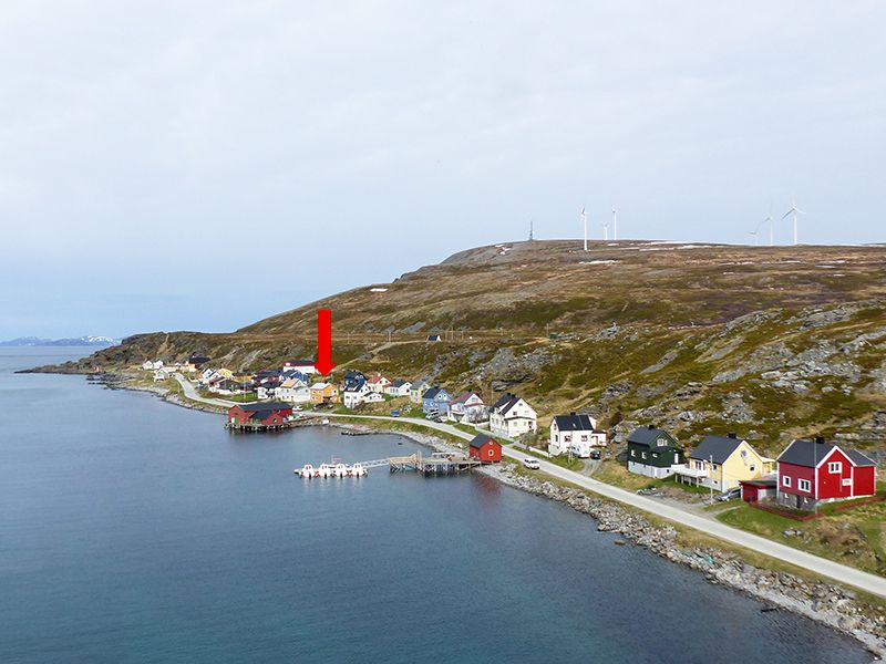 Angelreisen Norwegen 44001 Havøysund Sjøhus Ansicht