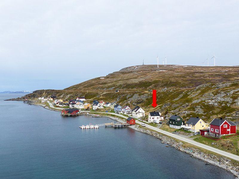 Angelreisen Norwegen 44003 Havøysund Sjøhus Ansicht