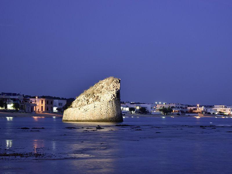 Angelreisen Italien 1001-1009 Torre Pali bei Nacht