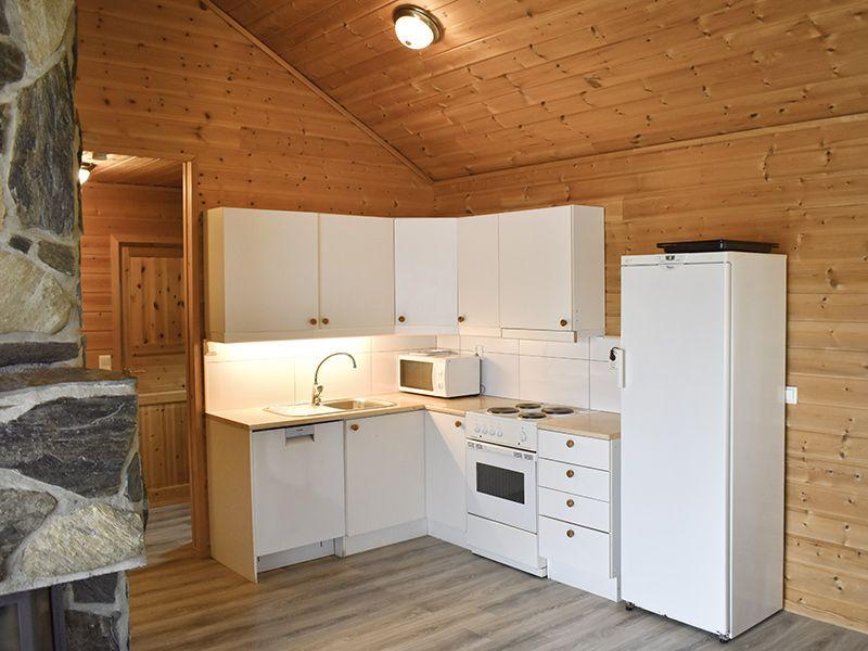 Angelreisen Norwegen 40415-40416 Furre Hytter Küche