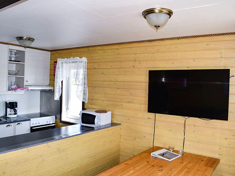 Angelreisen Norwegen 43301-43305 Offersøy Feriesenter Küche