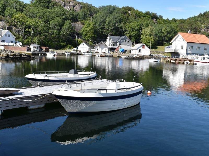 Angelreisen Norwegen 41171-41172 Stangeneset Gjestebrygge Boote