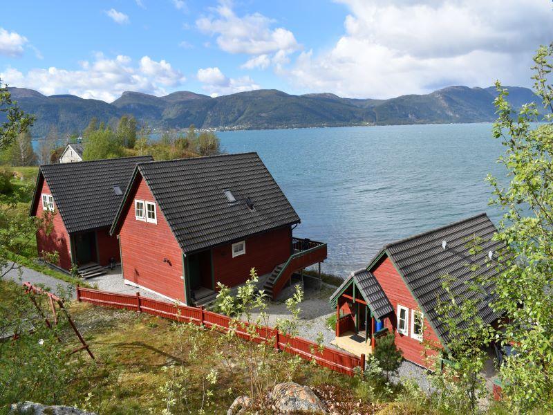 Angelreisen Norwegen 41401-41403 Sognefjord Ferienhäuser Panorama