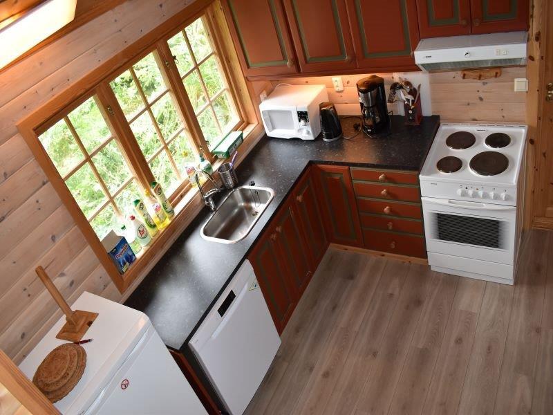 Angelreisen Norwegen 41872 Nesøya Brygge Küche