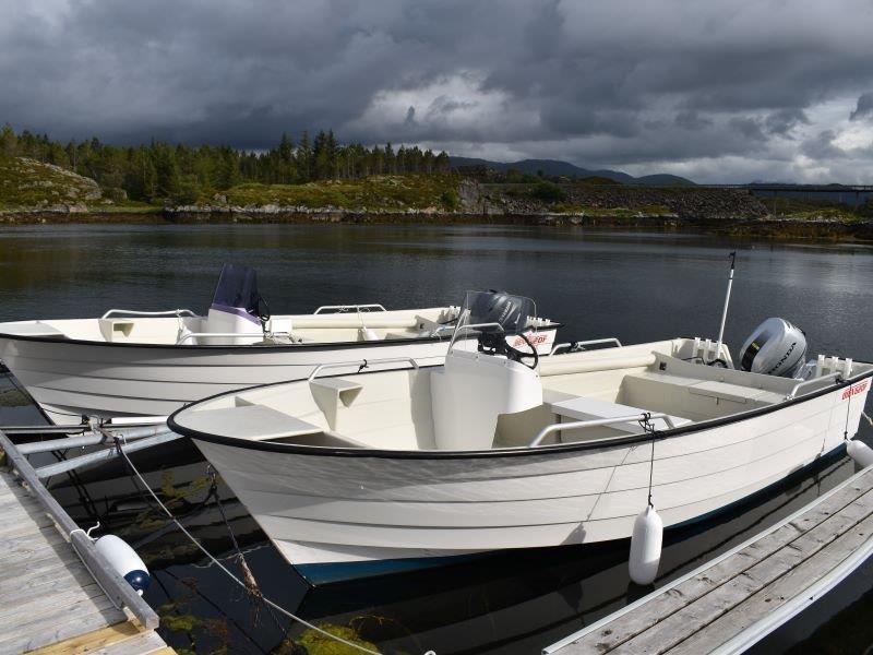 Angelreisen Norwegen Gaupsundet Feriehytter Boote 21 Fuß / 60 PS, 4-Takt, mit Echolot und Kartenplotter