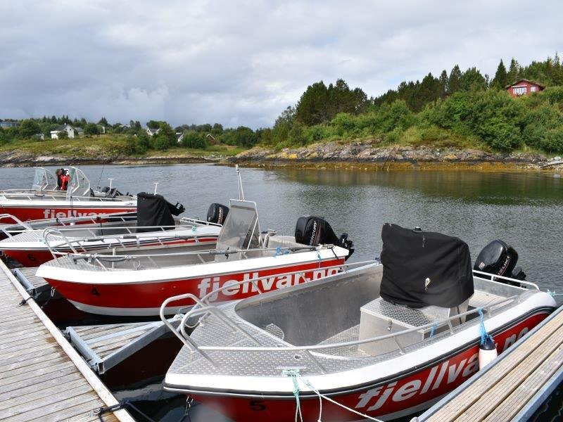 Angelreisen Norwegen Fjellvær Alu-Boote 17 Fuß / 40-50 PS, 4-Takt mit Echolot und Kartenplotter