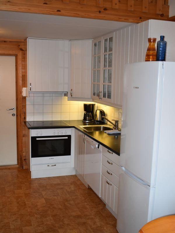 Angelreisen Norwegen 42281-42288 Ankeret Brygge Küche