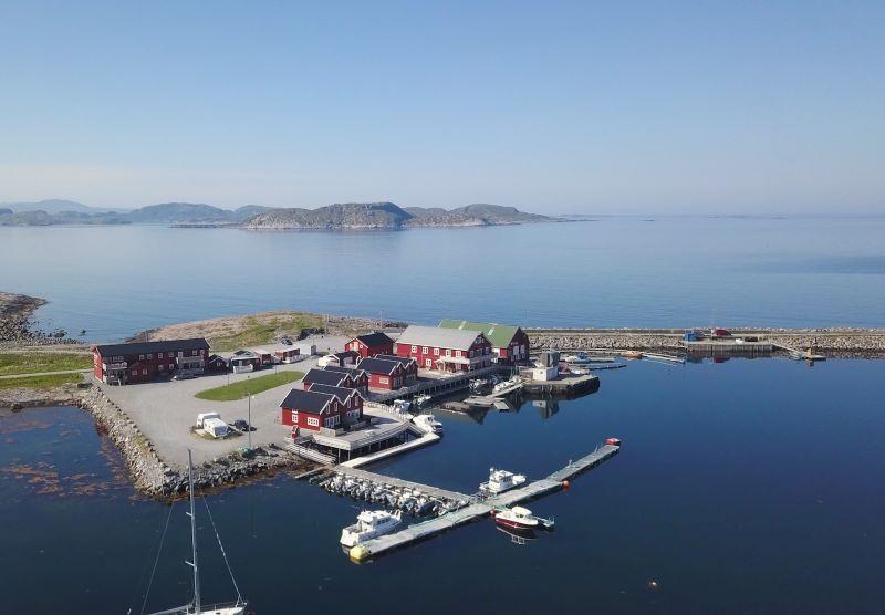 Angelreisen Norwegen 42381-42396 Seter Brygge Ansicht_Drohne