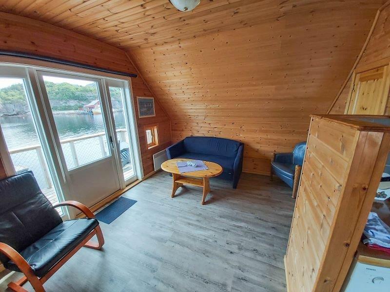 Angelreisen Norwegen 42420 Bessaker Wohnbereich
