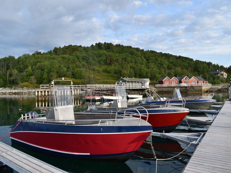 Angelreisen Norwegen 43411-43424 Sommersel Fishing Camp Aluboote 18,5 Fuß, 50 PS, 4-Takt mit Echolot und Kartenplotter