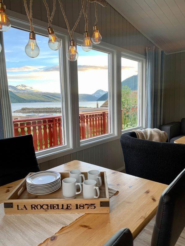 Angelreisen Norwegen 43501 Lavangen Sjøfiske Aussicht