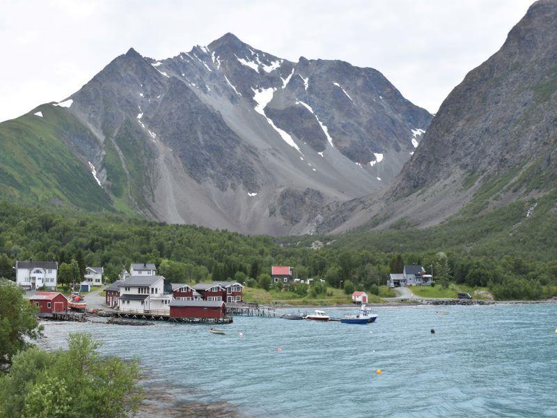 Angelreisen Norwegen 43561-43564 Koppangen Brygger Ansicht