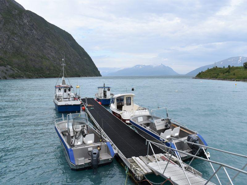 Angelreisen Norwegen 43561-43564 Koppangen Brygger Hafen