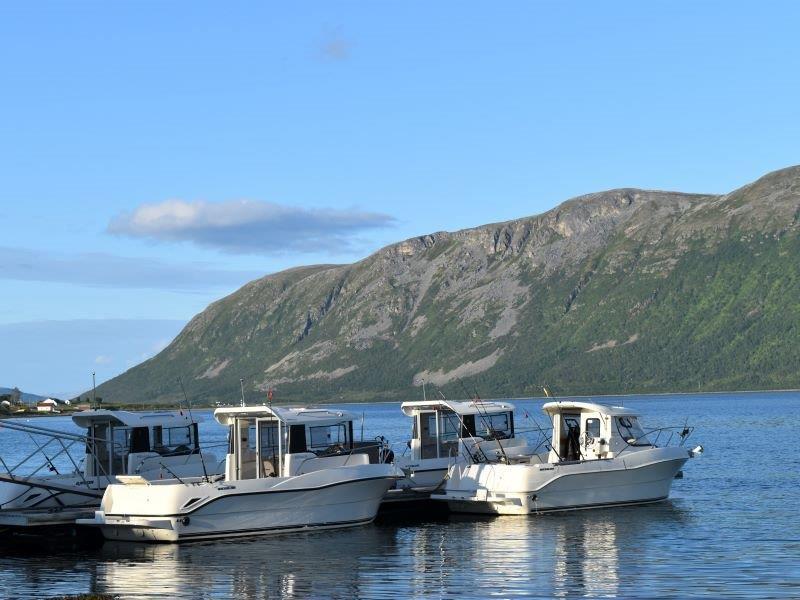 Angelreisen Norwegen Boote 43601-43604 Hansnes Havfiske Dieselboote Arvor 21,5 Fuss , 115 PS, Echolot und Kartenplotter