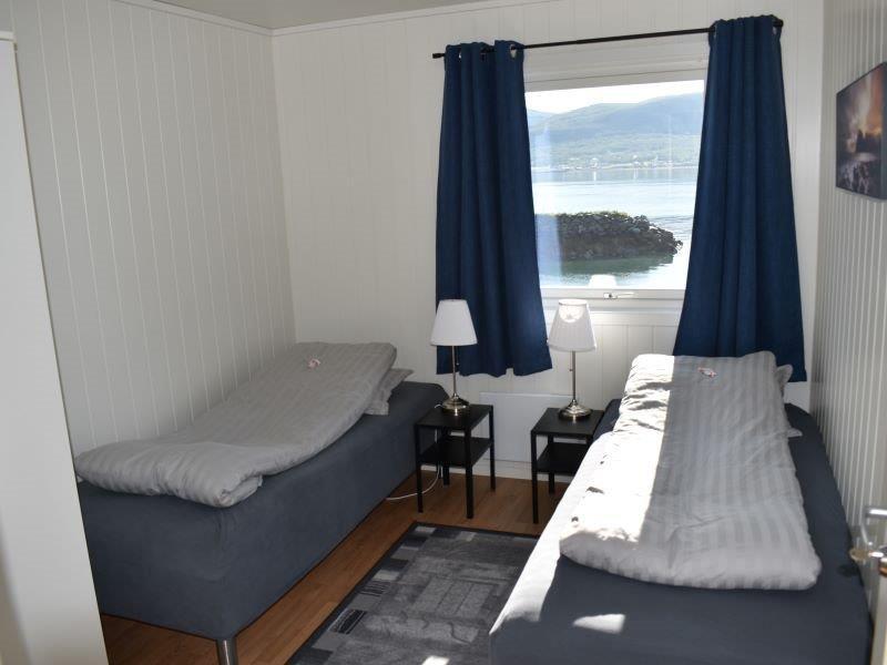 Angelreisen Norwegen 43604 Hansnes Havfiske Schlafen