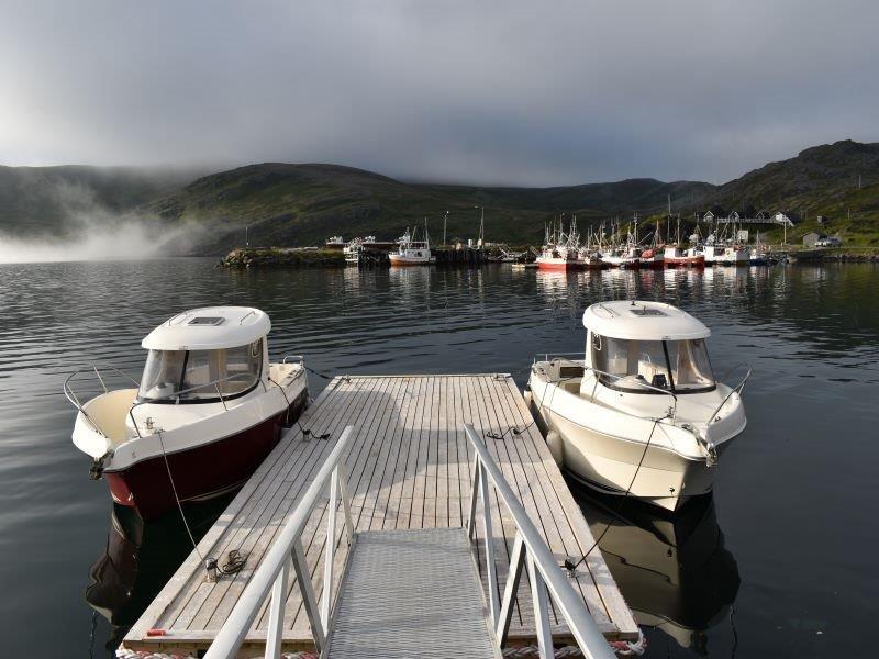 Angelreisen Norwegen Boote 45001-45002 Skarsvåg Nordkapp Kabinendieselboote Arvor 21 Fuss, 115 PS mit EcholoT und Kartenplotter
