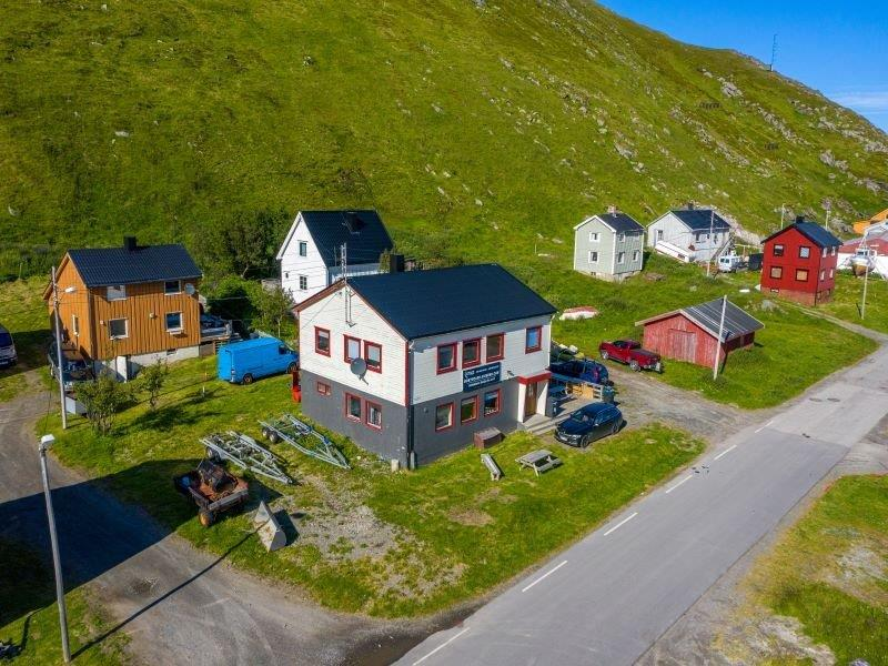 Angelreisen Norwegen 45011-45012 Skarsvåg Nordkapp Ansicht