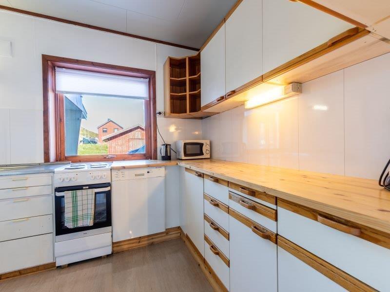 Angelreisen Norwegen 45011 Skarsvåg Nordkapp Küche