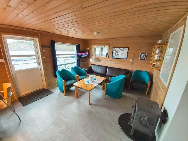 Angelreisen Norwegen 42411-42412 Bessaker Wohnbereich