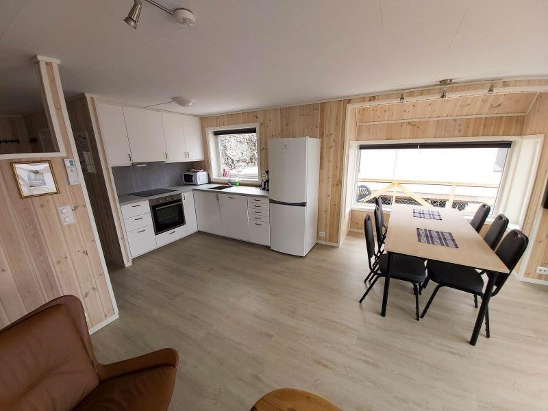 Angelreisen Norwegen 42413-42414 Besssaker Essplatz und Küche