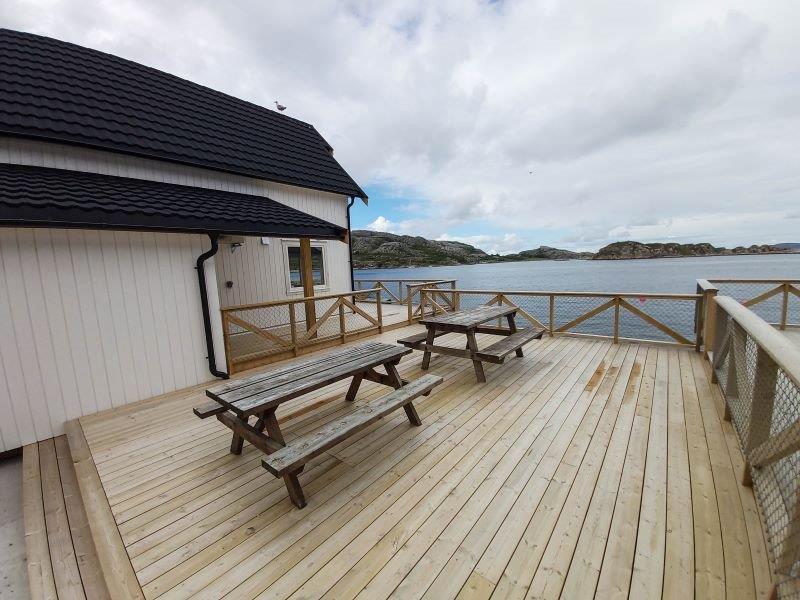 Angelreisen Norwegen 42413-42414 Besssaker Terrasse