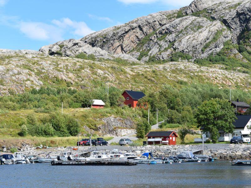 Angelreisen Norwegen 42442 Nord-Flatanger Utvorda Ansicht vom Wasser