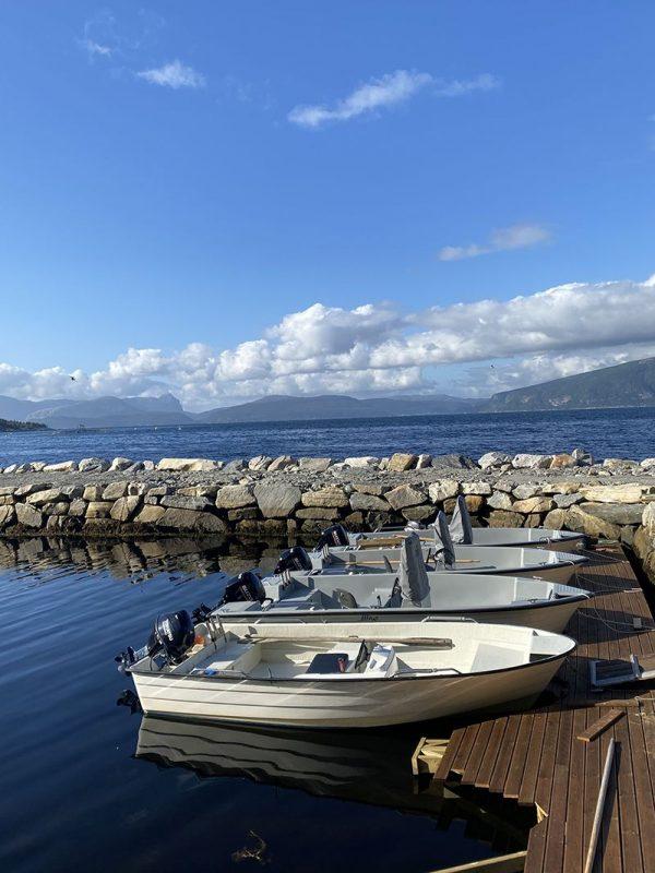 Angelreisen Norwegen Boote Sognefjord Panorama Boote 18 Fuß / 25-30 PS, 4-Takt und 18 Fuß / 50 PS, 4-Takt mit Echolot und Kartenplotter
