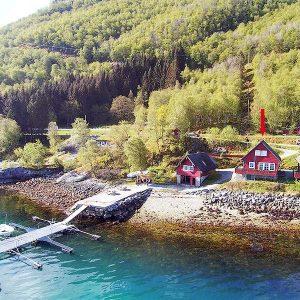 Angelreisen Norwegen 41401-41402 Sognefjord Ferienhäuser Ansicht
