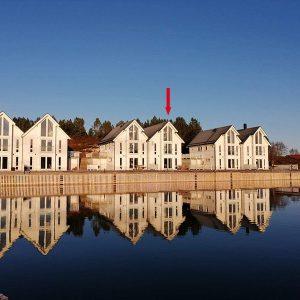 Angelreisen Norwegen Gaupsundet Feriehytter Rorbu Position