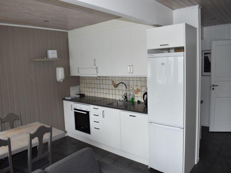 Angelreisen Norwegen 43561-43562 Koppangen Brygger Küche