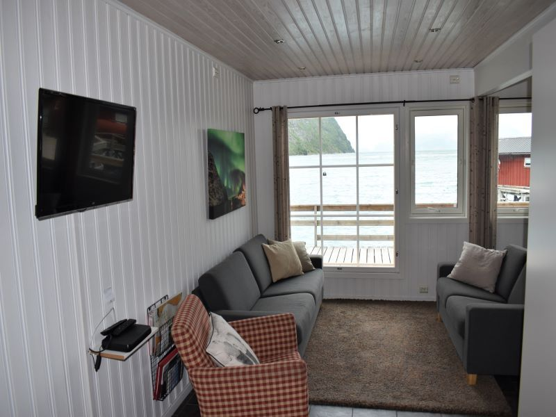 Angelreisen Norwegen 43561-43562 Koppangen Brygger Wohnen und TV