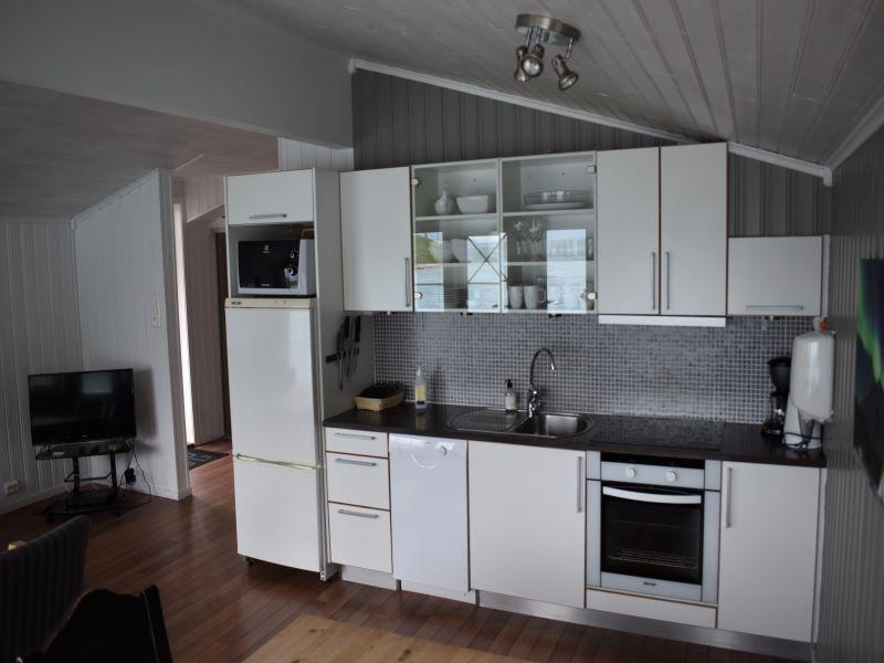 Angelreisen Norwegen 43563-43564 Koppangen Brygger Küche