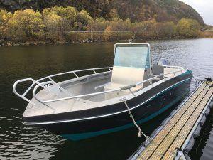 Angelreisen Norwegen 42451-42464 Flatanger Rorbuer Alu-Boote 21 Fuß / 100 PS, 4-Takt, Echolot, Kartenplotter (Kværnø)
