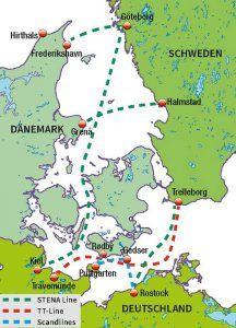 Fähren Schweden