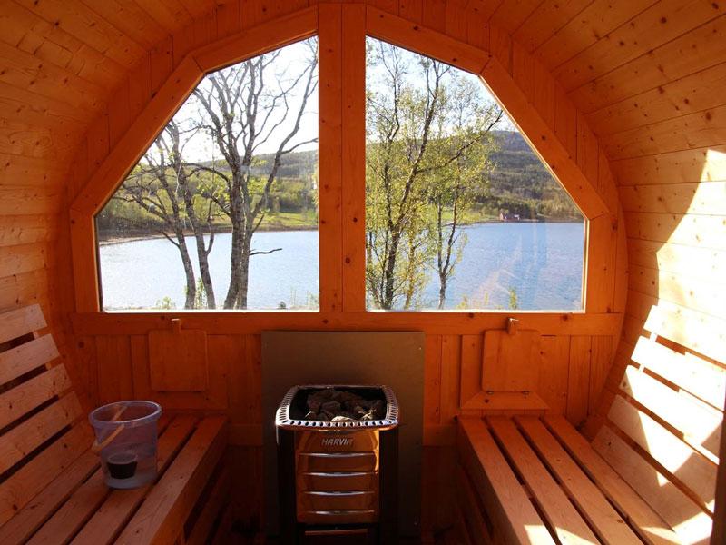 Angelreisen Norwegen 43521-43523 Senja Fishing Lodge_Sauna
