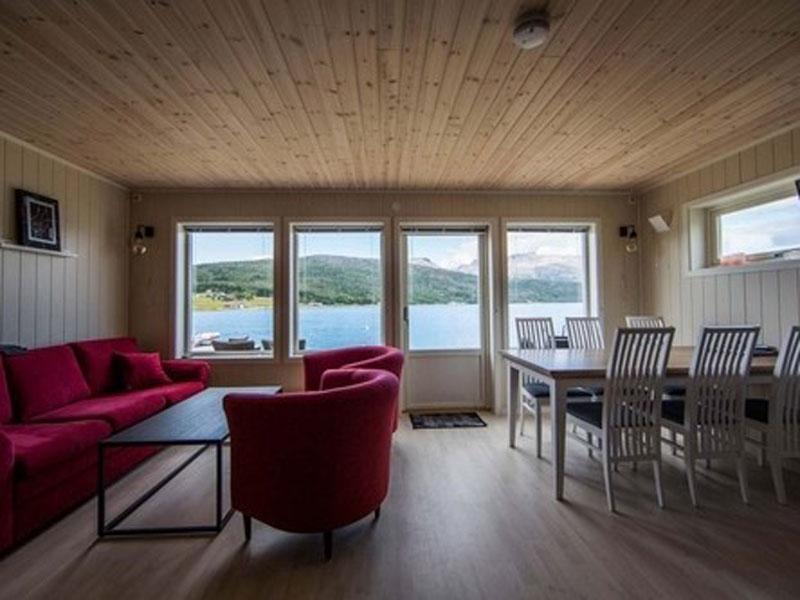 Angelreisen Norwegen 43521-43523 Senja Fishing Lodge_Wohnbereich